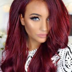 ruby hair color best 25 vibrant hair ideas on velvet