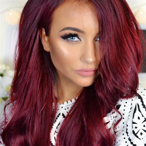 red hairstyles images vibrant red hair color see this instagram photo by