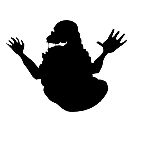 pics silhouettes  level answer slimer