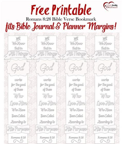 printable planner bookmark free bible verse coloring bookmark fits bible journal