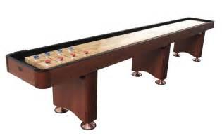 14 Cherry Playcraft Woodbridge Shuffleboard Table 14 Shuffleboard Table