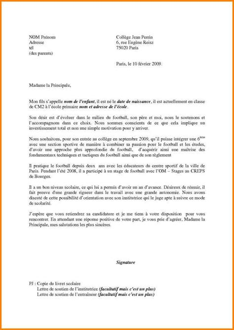 Exemple De Lettre De Motivation Football 10 Modele De Lettre De Motivation Format Lettre