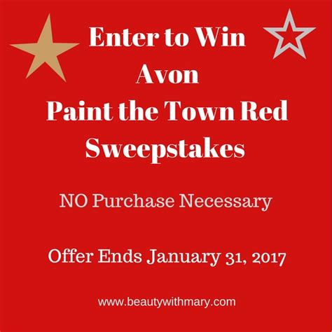 January Sweepstakes - avon sweepstakes january 2017 buy avon online view new brochure beauty with mary