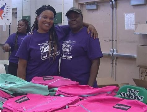 Thirteen Org Giveaways - school supply giveaway hands out 900 backpacks for students mn