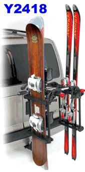 truck bed snowboard rack yakima 8002418 hitchski ski rack and snowboard hitch mount