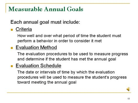 800 Measurable Iep Goals Objectives by Measurable Annual Goals Slide12