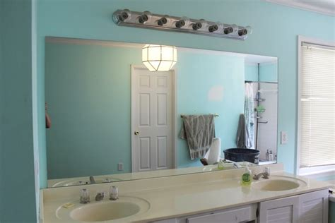 how to remove large bathroom mirror how to remove a frameless mirror like a nervous grandma