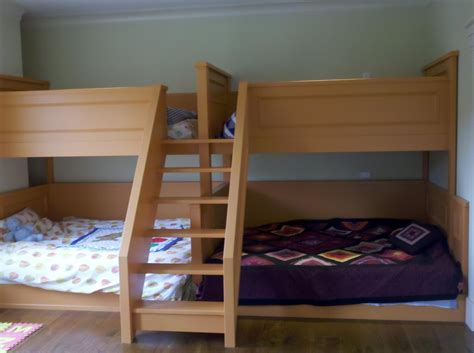 Pair Of Quad Bunk Beds Finish Carpentry Architect Age What Age For Bunk Beds