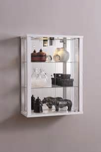 Wall Glass Display Cabinet With Lights Retail Shop Wall Mounted Glass Display Cabinet With