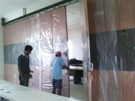 wallpaper dinding peredam suara pusat pintu lipat pintu partisi geser partisi sliding