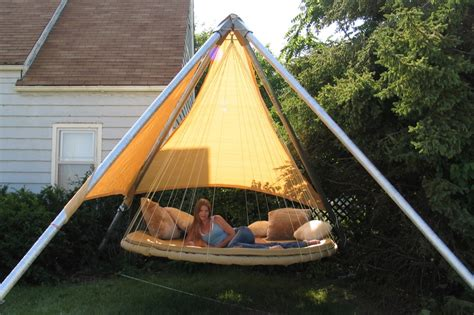 outdoor floating bed 46 best hanging beds chairs tents images on pinterest