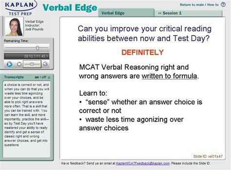 Mcat Verbal Section by Mcat Verbal Reasoning Tips What To Focus On In Passages