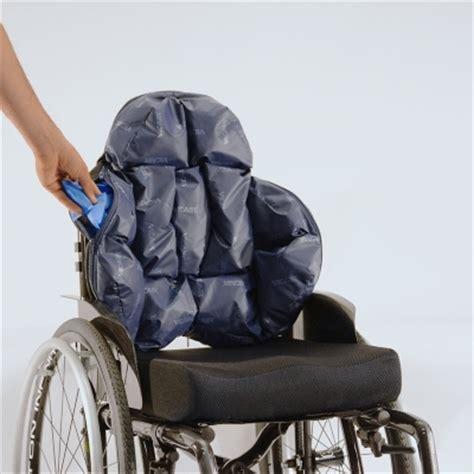 cuscini per carrozzine disabili schienali posturali nxt per una corretta postura in
