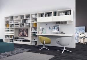 agréable Le Bruit Dans La Cuisine #2: bureau-domicile-moderne-biblioth%C3%A8que-salon.jpg