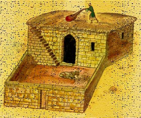 ancient middle eastern homes with flat roofs ancient israelite house of a commoner bible history