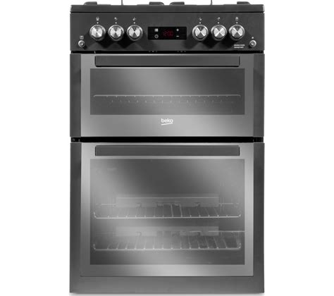 Oven Gas Ukuran 60 Cm buy beko xdvg674mt 60 cm gas cooker anthracite free