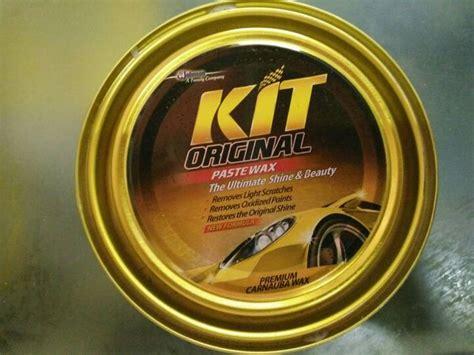 Kit Original Car Paste Wax Pengkilap Cat Mobil jual kit obat poles mobil motor pengkilap mengilangkan goresan toko saban rame