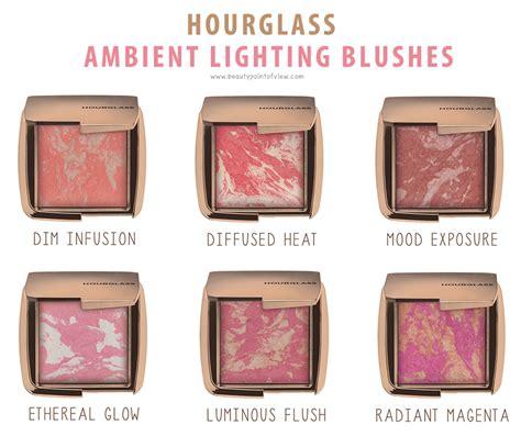 Hourglass Ambient Lighting Blush 1 hourglass ambient lighting blush point of view