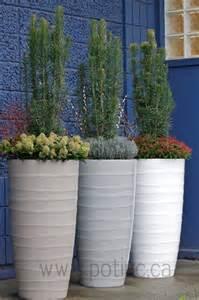 bir planter contemporary outdoor pots and planters