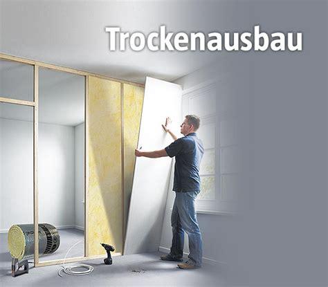 Trockenbauwand Selber Machen by So Stellen Sie Trockenbauw 228 Nde Bauhaus