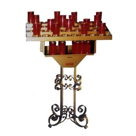 candelieri votivi candeliere votivo elettrico con ceroni ad innesto