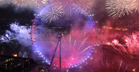 new year fireworks new year s fireworks dazzle crowds in and edinburgh