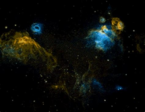 animated galaxies black holes supernovas gifs
