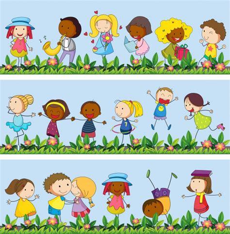 imagenes de niños jugando en el jardin de infantes jard 237 n de ni 241 os dibujo dibujos de jardines infantiles