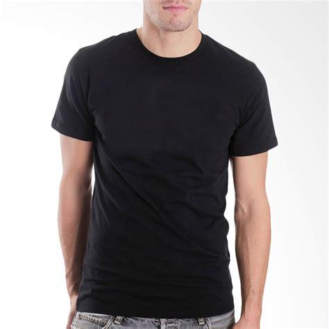 Tshirt Kaos Baju Hitam jual bkp kaos polos oblong hitam harga