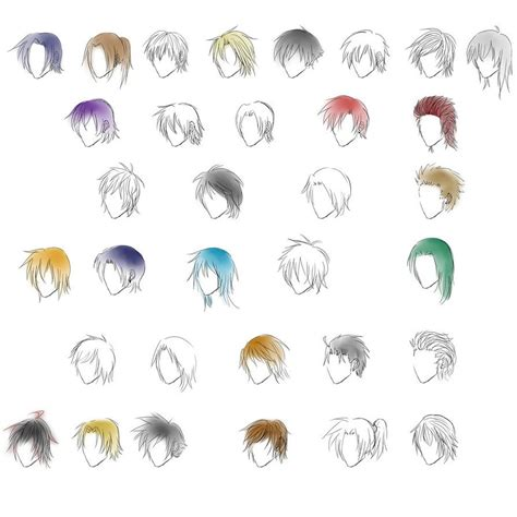 Anime Hairstyles For Guys by Anime Hairstyles For Guys Side View Hd Wallpaper Gallery