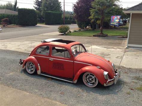 volkswagen beetle 1960 custom used 1960 vw slammed rag top bug by owner