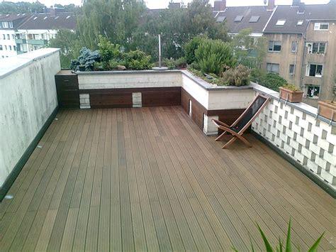 Dachterrasse Auf Garage Bauen by Terrasse Thermoesche Germaniastra 223 E D 252 Sseldorf Agk Holzbau
