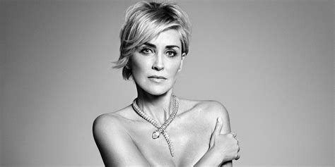 Sharon Stone Goes Nude In Harper's BAZAAR September 2015