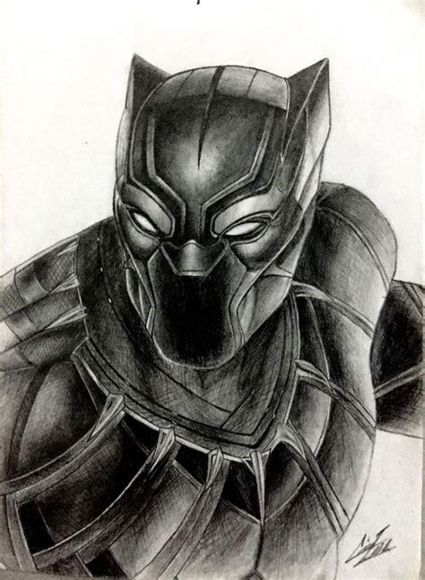 dibujos realistas materiales dibujo realista hecho a lapiz pantera negra arte