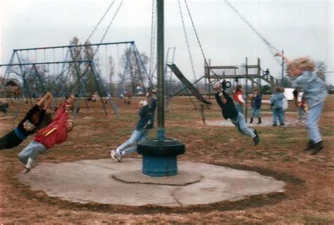 dangerous swing when playgrounds were deadly