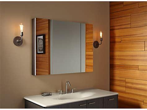 K 99010   Verdera Medicine Cabinet with Triple Mirrored