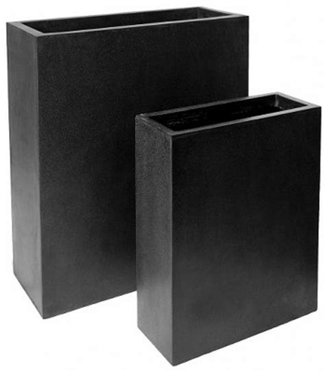 Lightweight Trough Planters by Terrazzo Lightweight Trough Planters For Pots