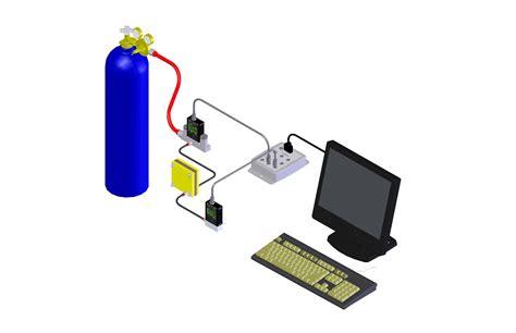 fuel cell membrane test alicat scientific