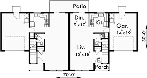 2 story duplex house plans duplex house plans 3 bedroom duplex house plans 2 story