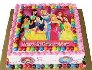 Tinkerbell Bedroom Ideas birthday cake edible image disney princess kek harijadi