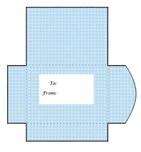 Envelope For Gift Cards Template - printable gift card envelopes printable cards