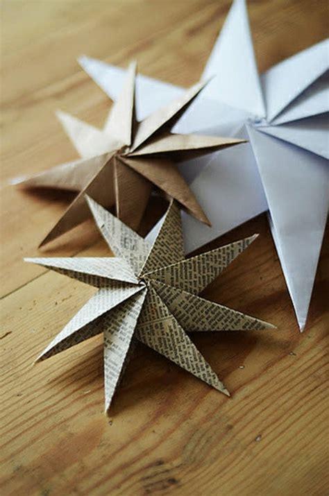 Sterne Weihnachten Basteln by 123 Ideen Weihnachtssterne Basteln