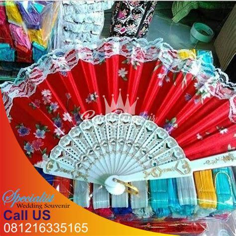 Murah Grosir Kipas Tangan Boneka souvenir kipas saten murah raja souvenir surabaya