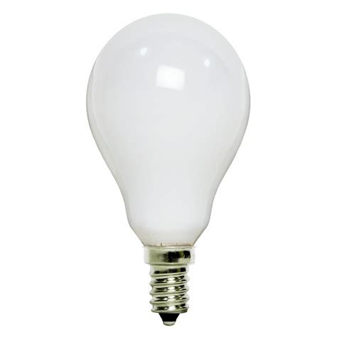 ceiling fan light bulbs satco s4161 40w a15 ceiling fan bulb