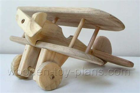 wooden toy airplane  plan