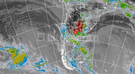 imagenes satelitales tormentas argentina hay riesgo de tormentas fuertes diario el litoral