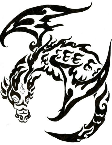 gambar tato tribal naga galeri tatto kumpulan gambar tatto naga