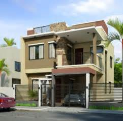 Simple Two Storey House Design Design Of Two Storey Residential House Home Design And Style
