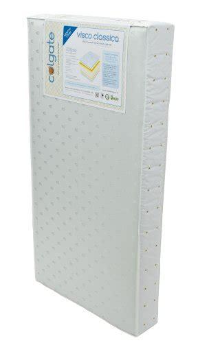 Colgate Classica Crib Mattress Colgate Visco Classica Dual Firmness Foam Crib Mattress With Memory Foam Cloth And Vinyl Cover