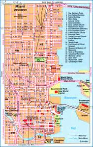 florida tourist map miami map tourist attractions travel map vacations
